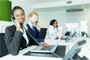 employee doesn't miss a telephone call